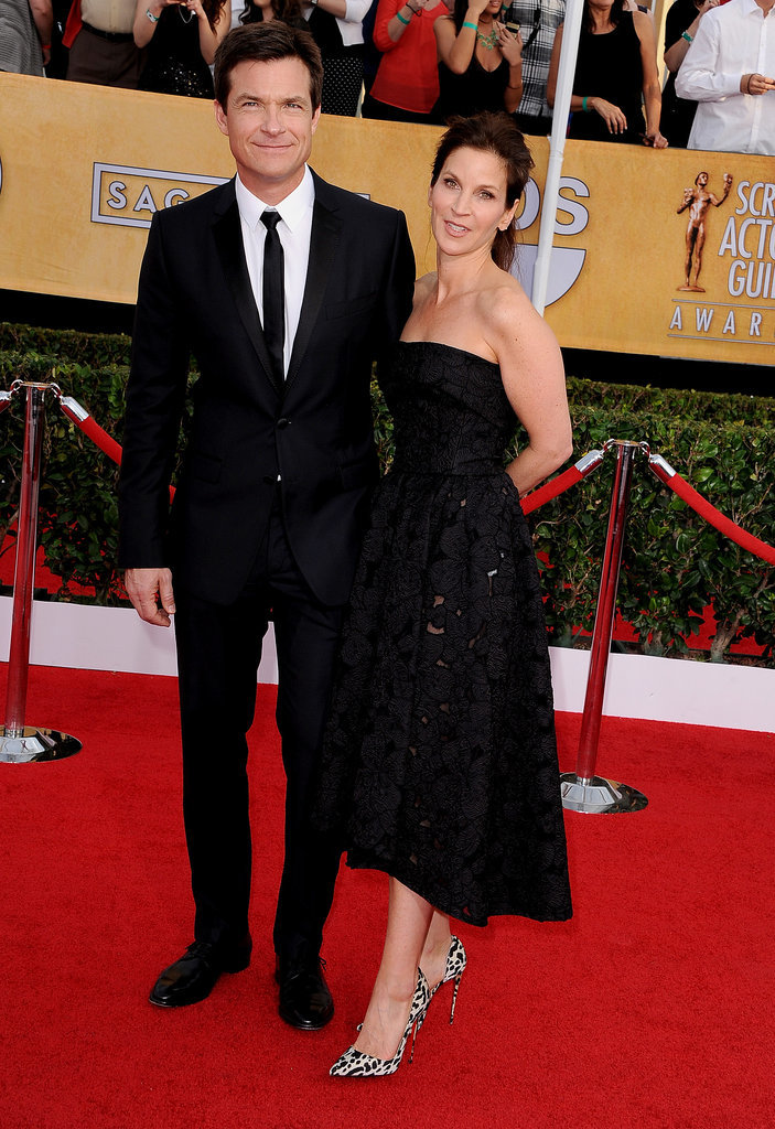 Jason Bateman and his wife, Amanda Anka, walked the red carpet together.