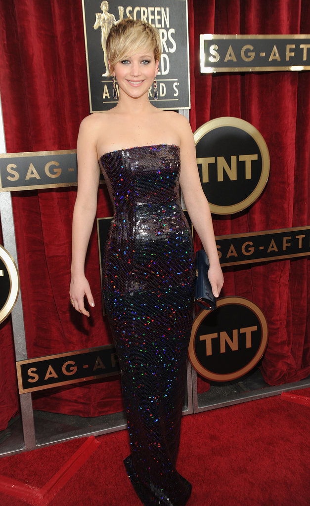 Jennifer Lawrence at the SAG Awards 2014
