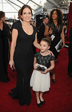 Tina Fey Brings Her Mini-Me Daughter to the SAGs