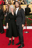 Jared Leto brought his mom, Constance, as his date to the SAG Awards.
