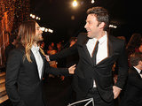 Jared Leto and Ben Affleck were excited to see each other.