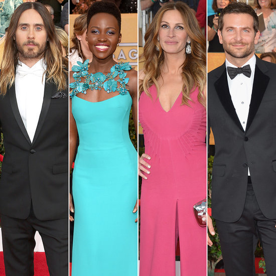 Celebrities on the SAG Awards Red Carpet 2014