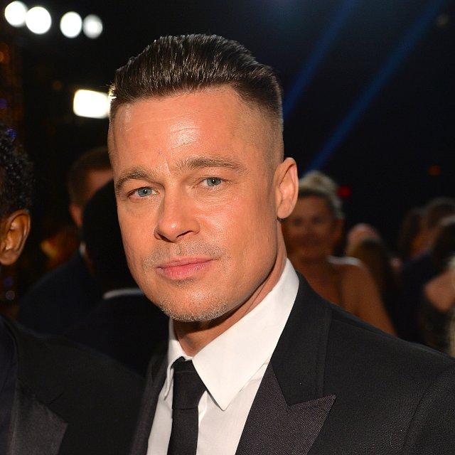 Brad Pitt's Hair at SAG Awards 2014
