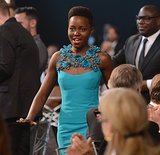 Lupita Nyong'o was emotional as she walked to the stage to accept her award.