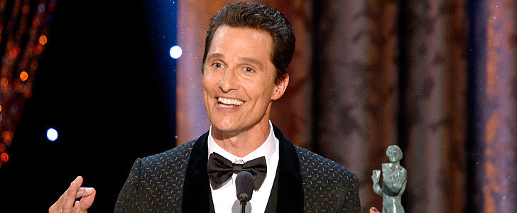 Watch Matthew McConaughey's Bizarre SAG Award Acceptance Speech