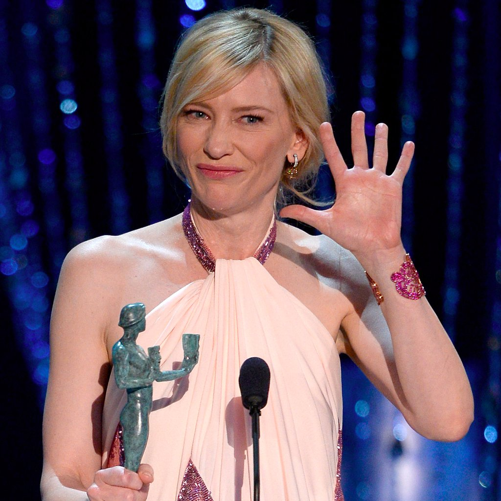 Cate Blanchett Calls Out Matthew McConaughey at SAG Awards
