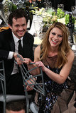 Claire Danes and Hugh Dancy had a laugh during the SAG Awards.