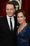 Bryan Cranston stepped out for the SAG Awards with his wife, Robin Dearden.