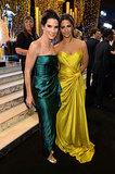 Sandra Bullock and Camila Alves looked gorgeous in their gowns.