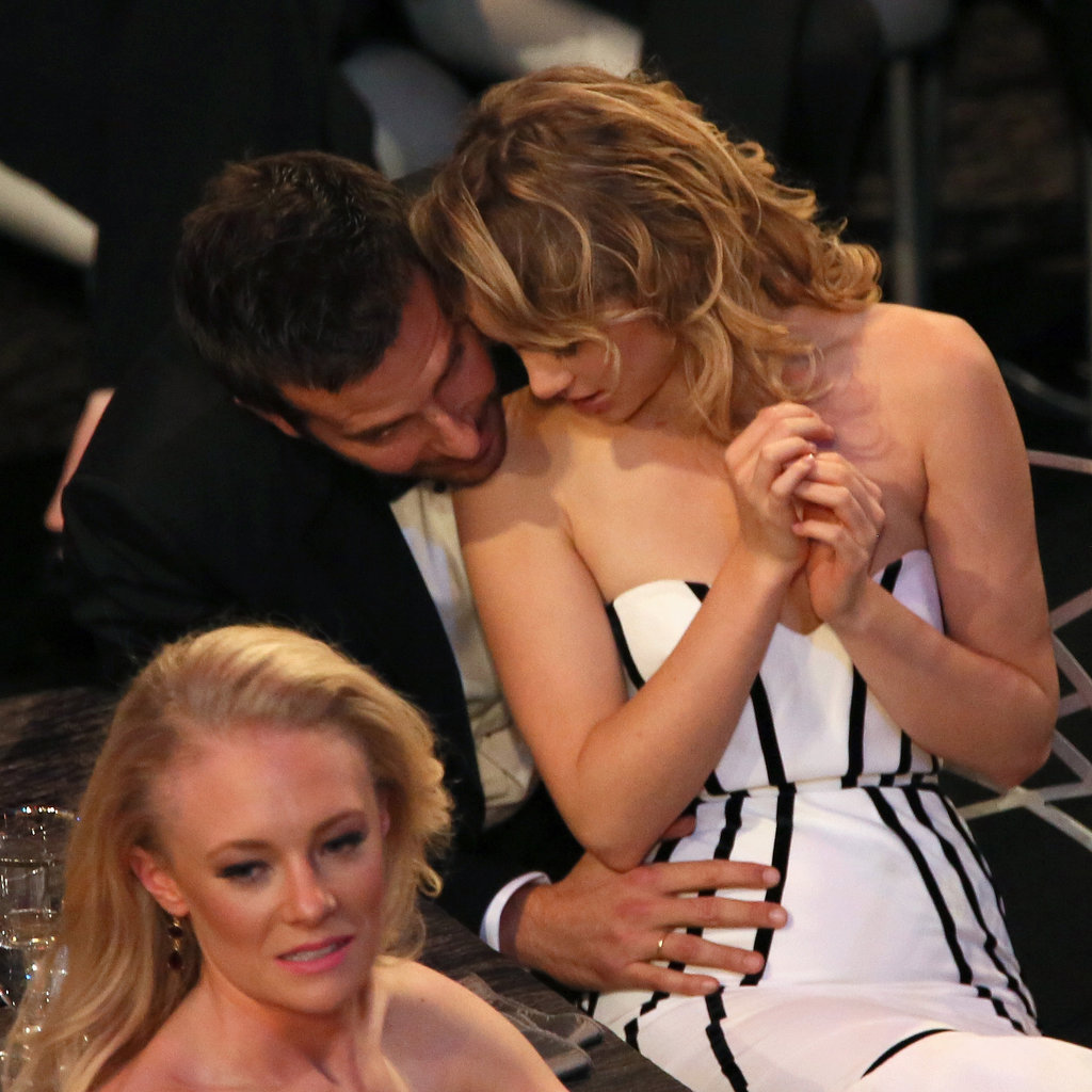 Bradley Cooper and Suki Waterhouse at the SAG Awards 2014