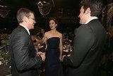 Matt Damon made Jennifer Garner and Ben Affleck laugh.