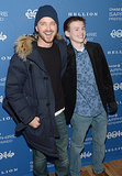 Aaron Paul buddied up with costar Josh Wiggins at the Hellion premiere party on Friday.