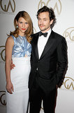 Claire Danes walked the red carpet with her husband, Hugh Dancy.