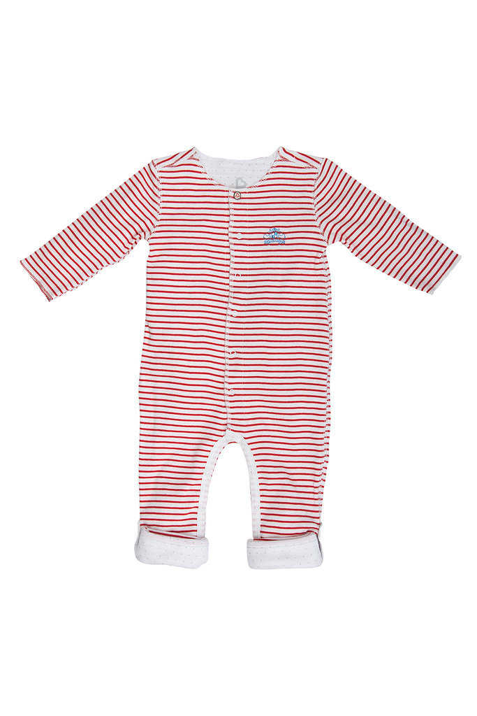 Long-Sleeved Striped Sleepster