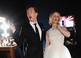 Benedict Cumberbatch Charmed Everyone at the SAG Awards