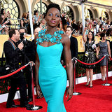 Lupita Nyong'o Best Dressed SAG Awards 2014 | Video