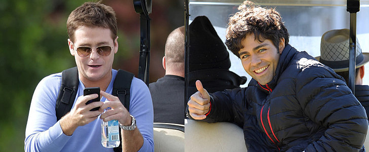 Eric, Vince, Drama, and Turtle Are Back Together on the Entourage Set!