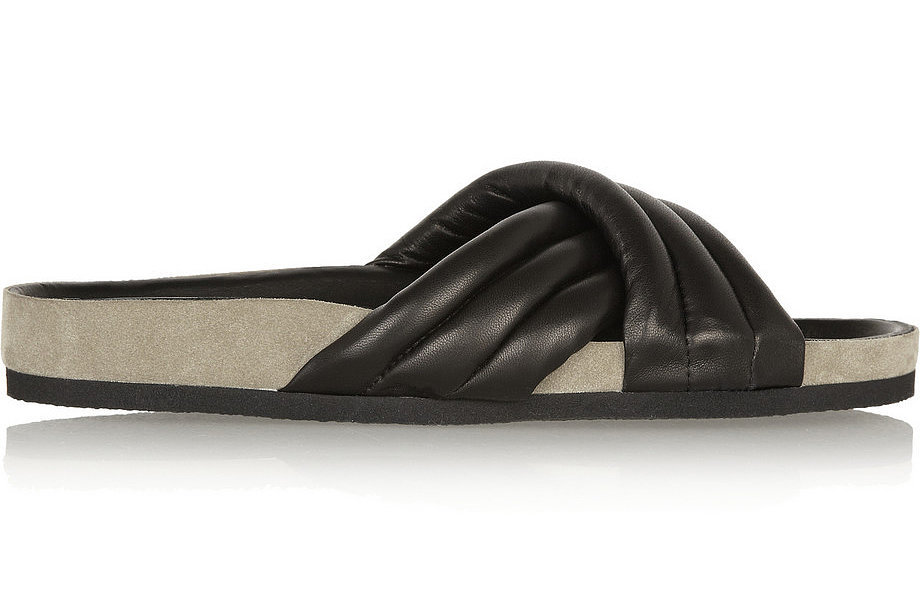 Isabel Marant Holden Leather Slides