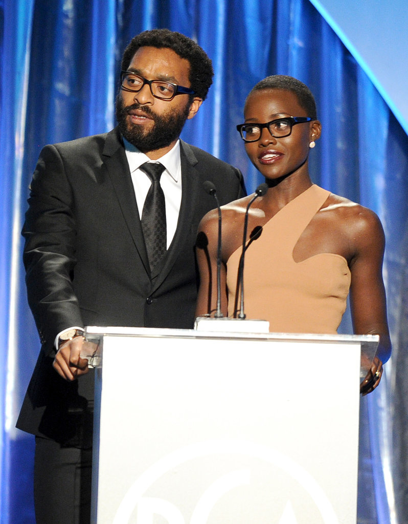 Chiwetel Ejiofor and Lupita Nyong'o showed off their specs.