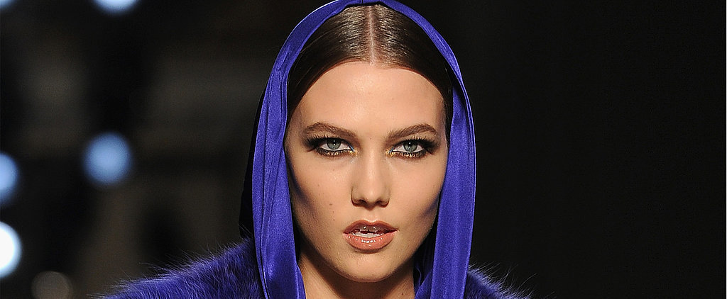 Atelier Versace Takes the Inky Eye from Grunge to Glamour