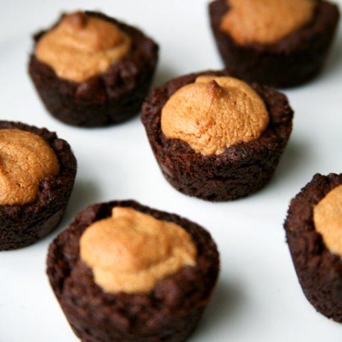 Healthy Dessert Recipes: Vegan Peanut Butter Brownies