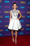 Allison Williams in Dior Dress at the Girls Premiere