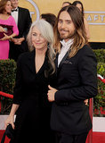 "Jared Leto brought the ""hottest date,"" his mom, Connie."