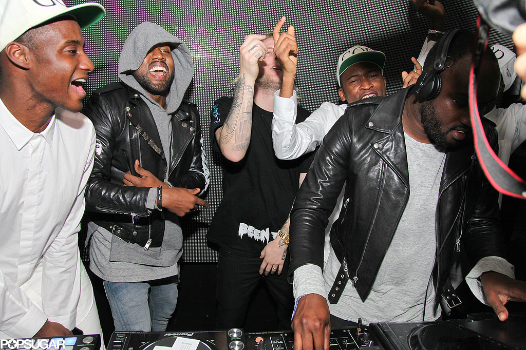 Kanye West and Robin Thicke Really Know How to Let Loose