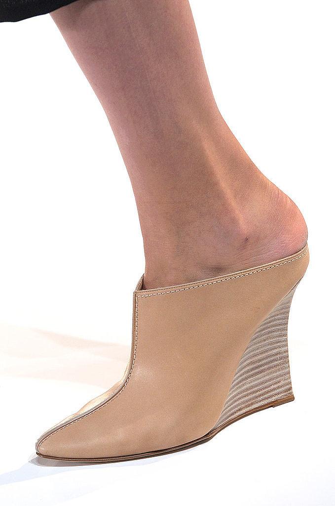 Mules: Victoria Beckham Spring 2014