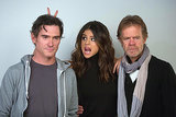 Selena Gomez got silly with Billy Crudup and William H. Macy at an event at Sundance on Monday.