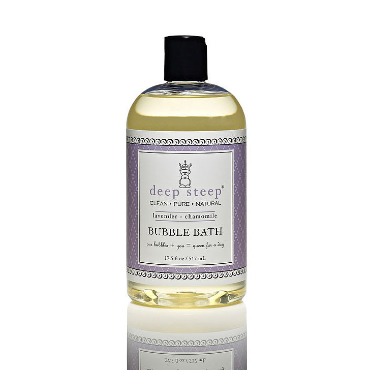 A soothing soak is one way to show your Winter-weary body some love. The scent of lavender and chamomile from the Deep Steep Lavender Bubble Bath ($8, originally $10) will relieve any pre-Valentine's Day tension you might have.