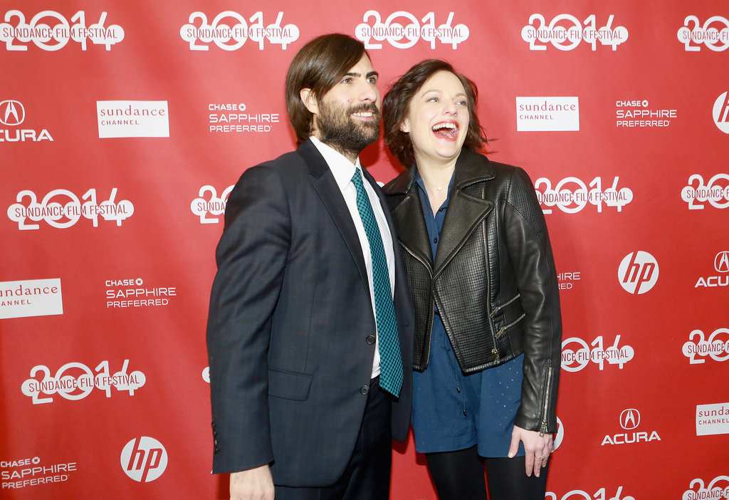 Jason Schwartzman also hammed it up with Elisabeth Moss.