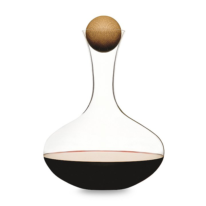 Skip the bottle and pour from something a little fancier on Valentine's Day, like this hand-blown wine decanter ($35).