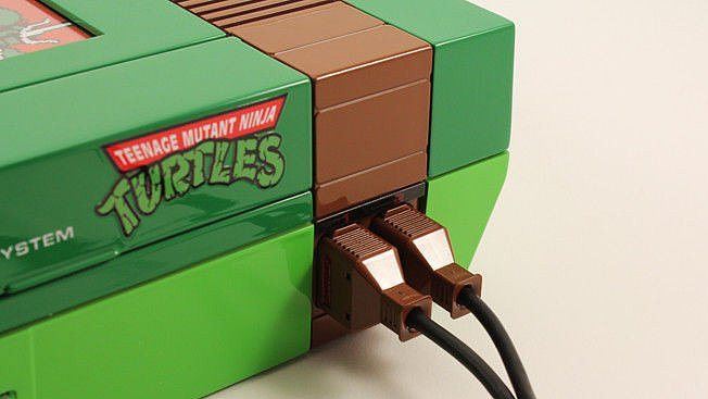 Customized Ninja Turtle NES Is Everything Good in This World