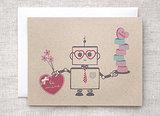 Robot Conversation Heart Valentine