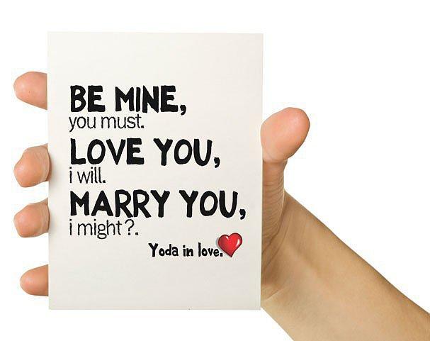 Yoda in Love
