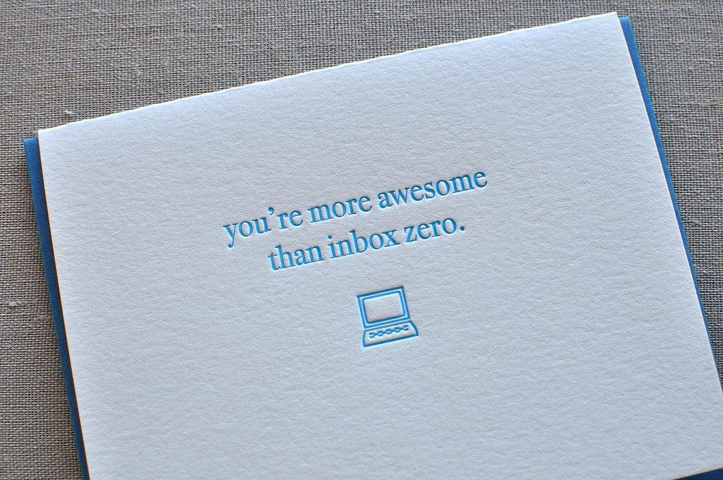 You > Inbox Zero