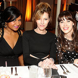 Zooey Deschanel, Mindy Kaling at Elle Magazine TV Party