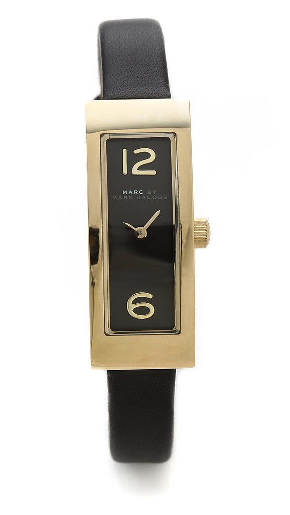 Marc by Marc Jacobs Logo Plaque Watch
