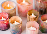 Painted Votives