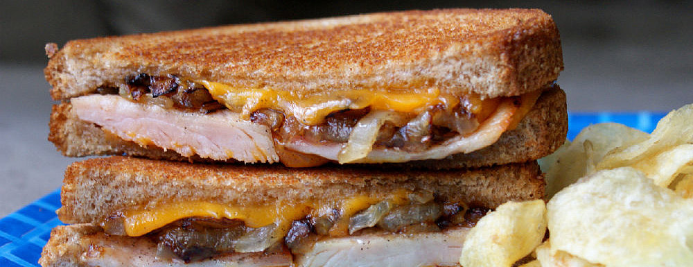 An Adult-Approved Grilled Cheese Sandwich