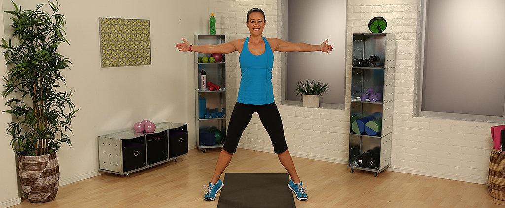 1-Minute Fitness Challenge: Seal Jack