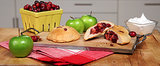 Apple-Cranberry Biscuit Pies Because Pie