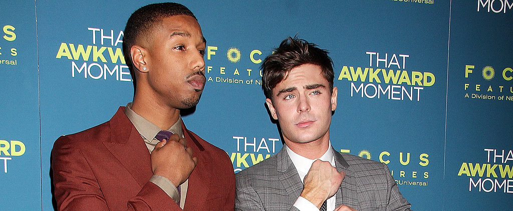 Even Zac Efron Can't Get Enough of Michael B. Jordan
