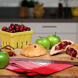 Spiced Apple-Cranberry Biscuit Pies