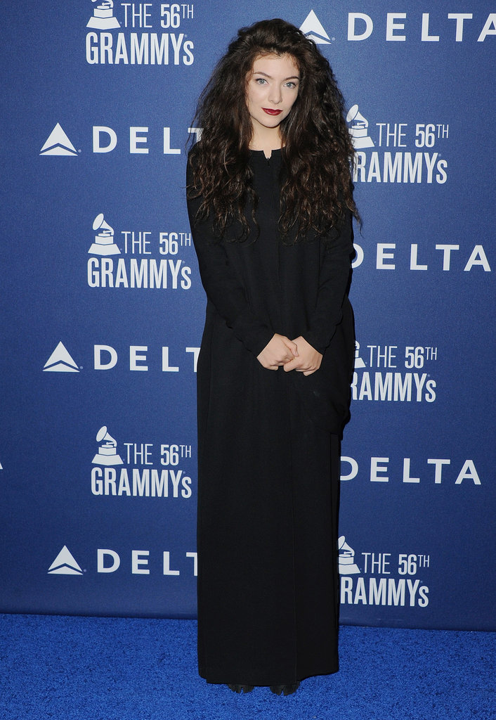 Lorde attended Delta's pre-Grammys party on Thursday in LA.