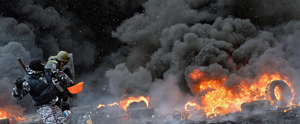 You Can't Ignore These Frightening Photos From the Kiev Protests