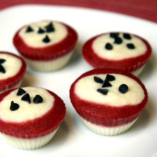 Low Calorie Frozen Yoghurt Cupcakes