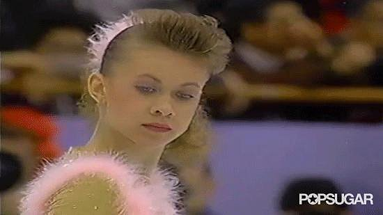 But Ukraine's Oksana Baiul still had to perform. Armed with a hot-pink scrunchie and matching blush, the teen wonder was ready to challenge Nancy for the gold.