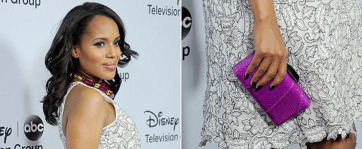 Get Your Hands on Kerry Washington's Vibrant Clutch